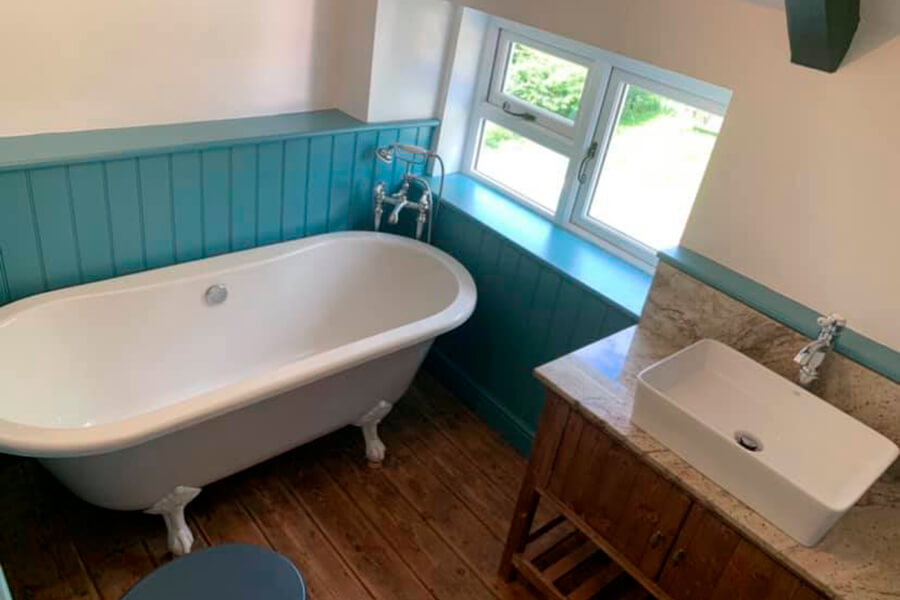 Bathroom Renovation - Patience and Hilliard Builders in Norfolk