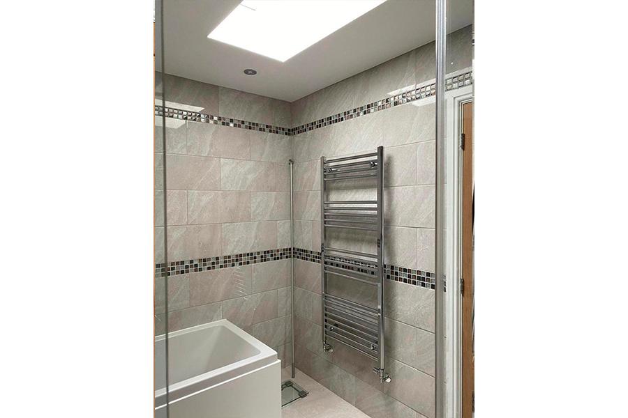 Bathroom Radiator - Patience and Hilliard Builders in Norfolk