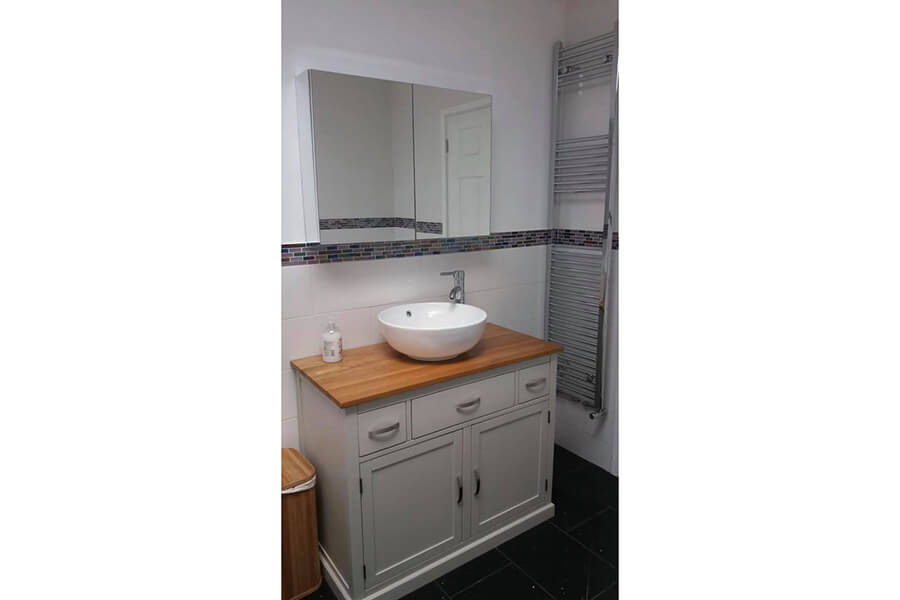 Sink Unit - Patience and Hilliard Builders in Norfolk
