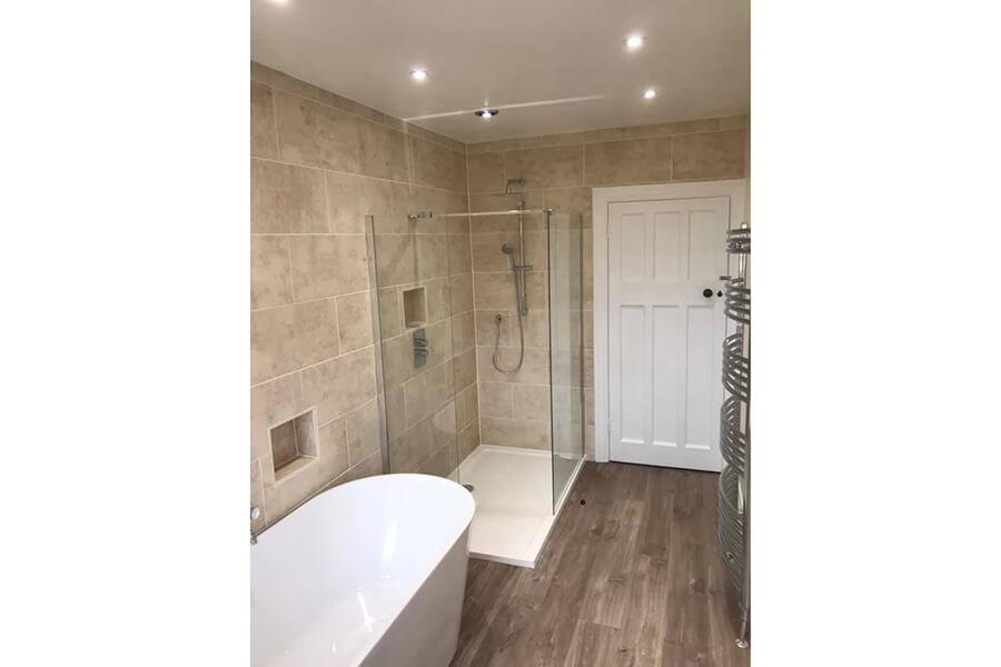 Bathroom - Patience and Hilliard Builders in Norfolk