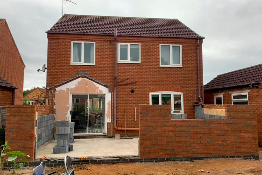 Extension Build - Patience and Hilliard Builders in Norfolk