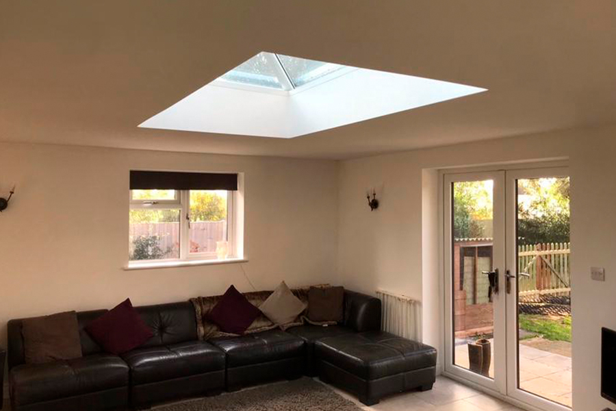 Flat Roof Extension - Patience and Hilliard Builders in Norfolk