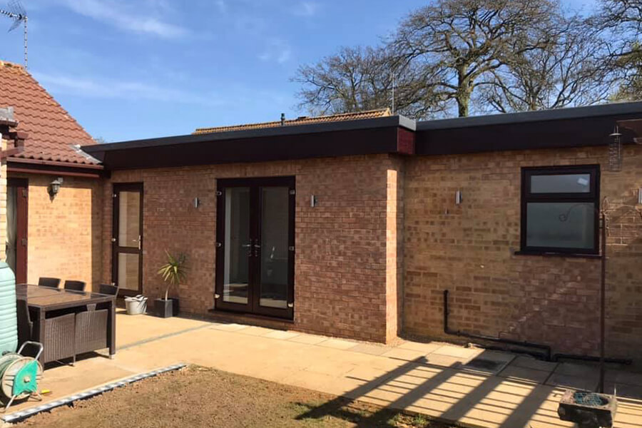 Extension - Patience and Hilliard Builders in Norfolk