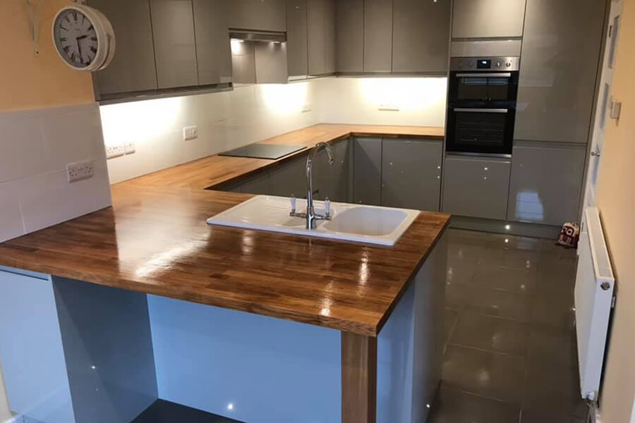 Kitchen - Patience and Hilliard Builders in Norfolk
