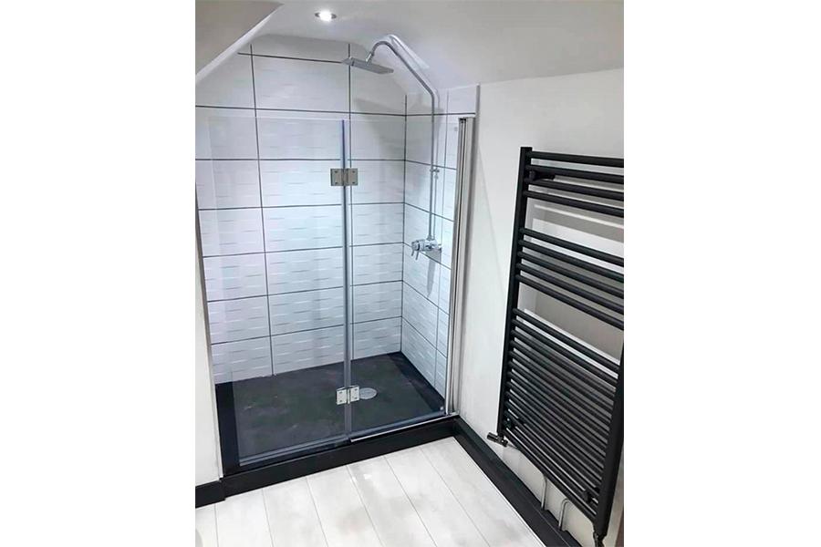 Shower Room - Patience and Hilliard Builders in Norfolk